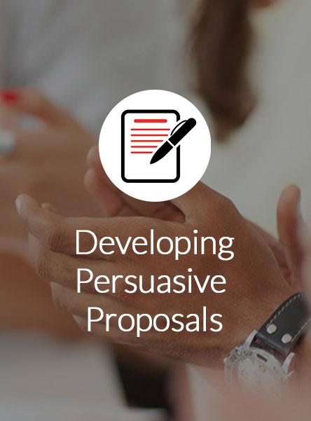 Developing Persuasive Proposals Details