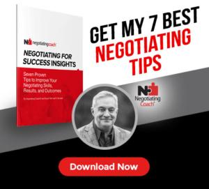 Get My 7 Best Negotiating Tips
