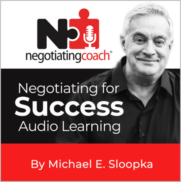 Negotiating for Success Audio Learning