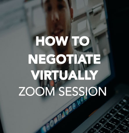 How to Negotiate Virtually